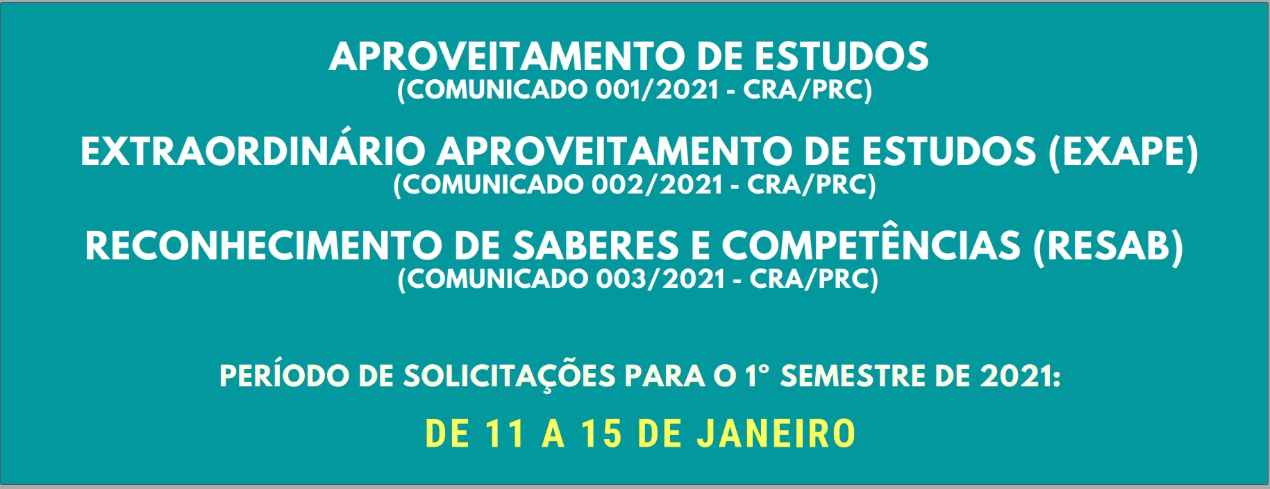 1º semestre 2021