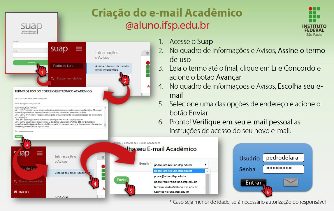E-mail do IFSP para alunos: é simples e rápido!