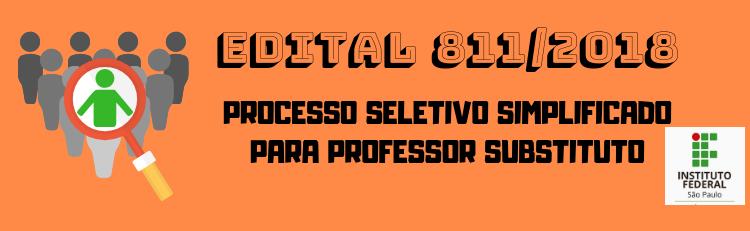 Processo seletivo simplificado para professor substituto - Classificação Final