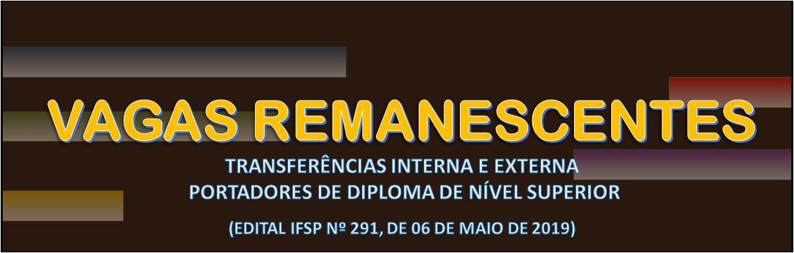 Edital IFSP Nº 291